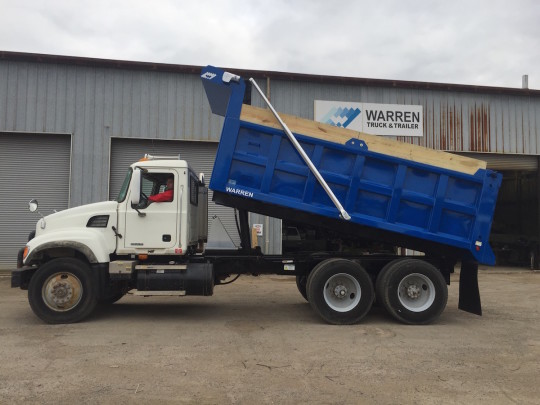 frameless 16 ft dump body