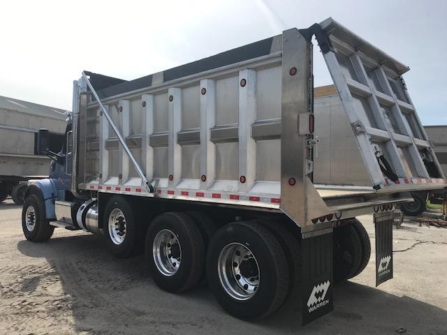 custom aluminum dump body